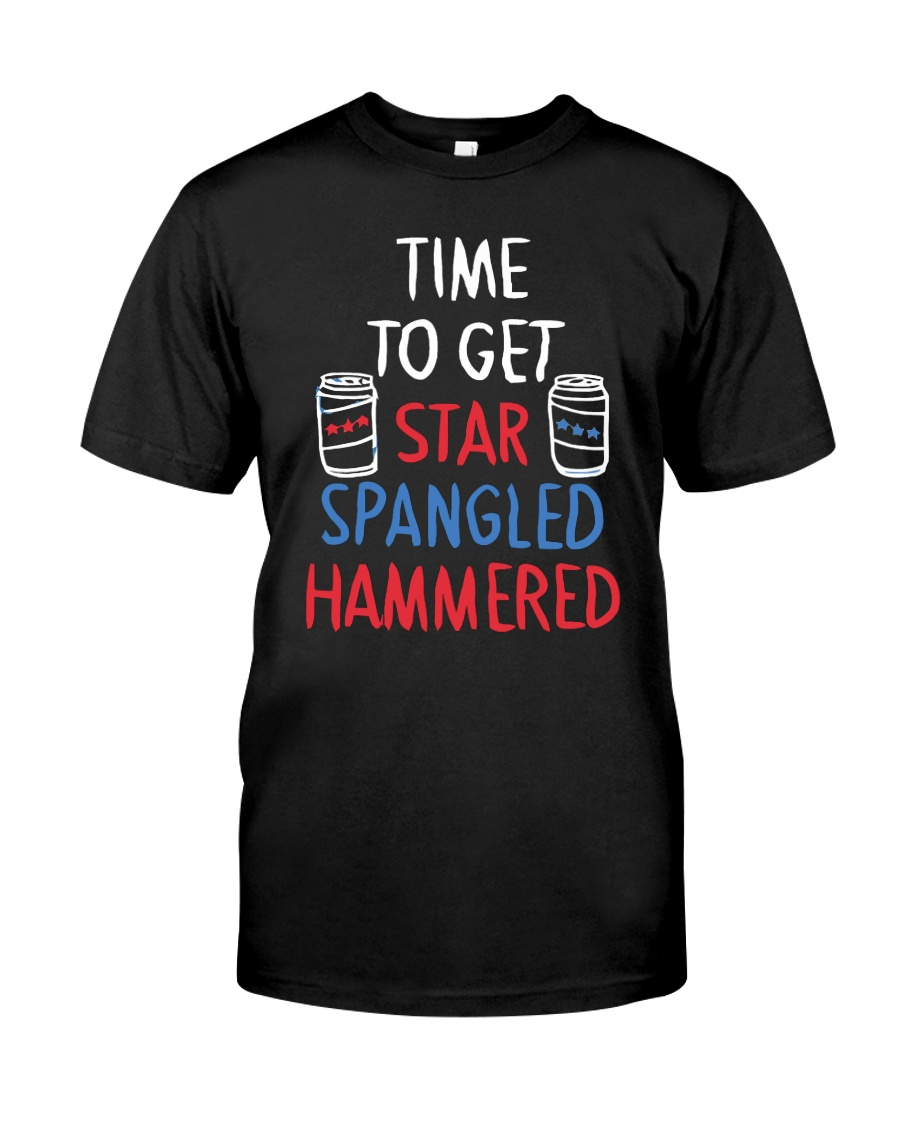 TIME TO GET STAR SPANGLED HAMMERED Classic T-Shirt