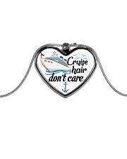 Cruise Love Metallic Heart Necklace front