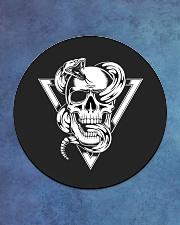 Fatality T-Shirt Circle Coaster aos-coaster-round-front-lifestyle-2