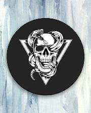Fatality T-Shirt Circle Coaster aos-coaster-round-front-lifestyle-5