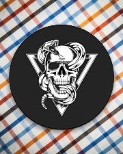 Fatality T-Shirt Circle Coaster aos-coaster-round-front-lifestyle-8