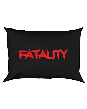 Fatality T-Shirt Rectangular Pillowcase thumbnail