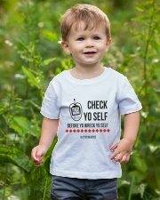 Check Yo Self Youth T-Shirt lifestyle-youth-tshirt-front-3