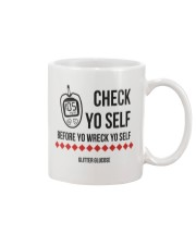 Check Yo Self Mug tile