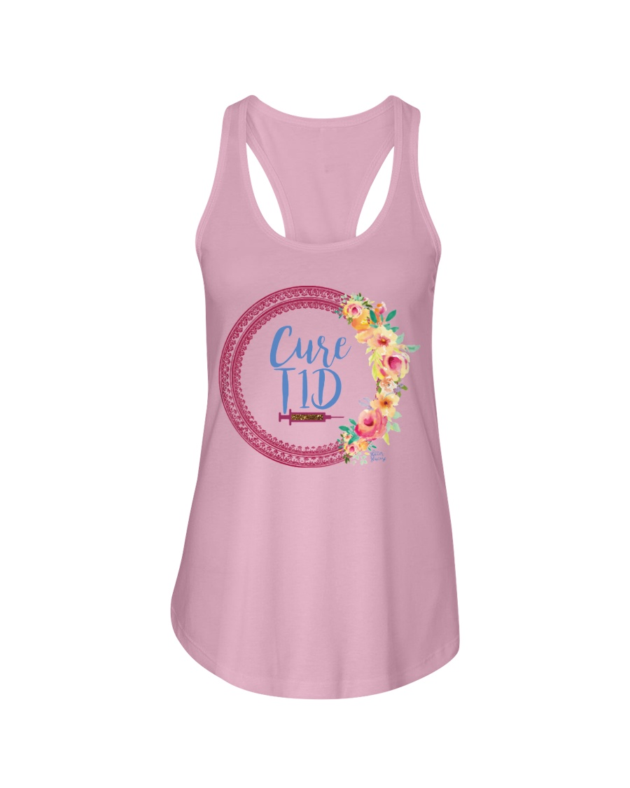 Cure T1D Ladies Flowy Tank