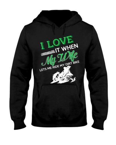 Biker - I love my wife
