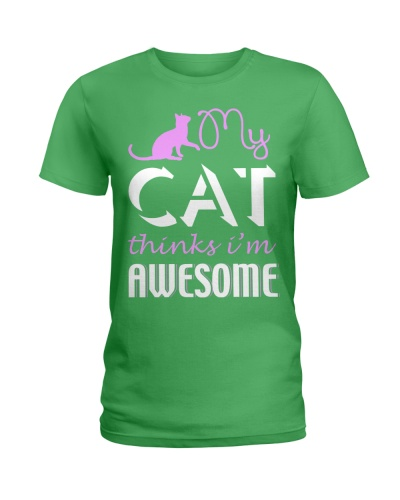 Cat Think Awesome