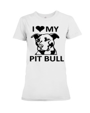 pit bull Premium Fit Ladies Tee thumbnail