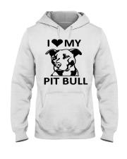 pit bull Hooded Sweatshirt thumbnail