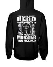 LIMITED EDITION Hooded Sweatshirt back