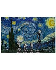 Starry Night And Jack Skellington 17x11 Poster front