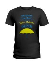 Yellow Umbrella - HIMYM Ladies T-Shirt thumbnail