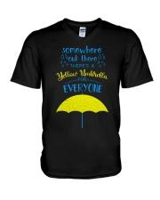 Yellow Umbrella - HIMYM V-Neck T-Shirt thumbnail