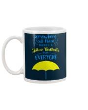 Yellow Umbrella - HIMYM Mug back