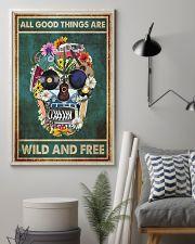 Hippie Skull  11x17 Poster lifestyle-poster-1