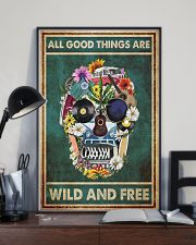 Hippie Skull  11x17 Poster lifestyle-poster-2