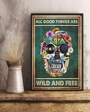 Hippie Skull  11x17 Poster lifestyle-poster-3