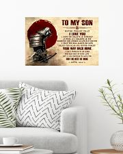 Dad To My Son 24x16 Poster poster-landscape-24x16-lifestyle-01