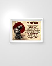 Dad To My Son 24x16 Poster poster-landscape-24x16-lifestyle-02