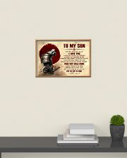 Dad To My Son 24x16 Poster poster-landscape-24x16-lifestyle-09