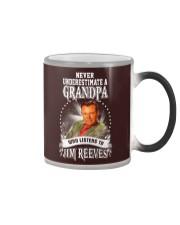 Never Underestimate A Grandpa Shirts Color Changing Mug thumbnail