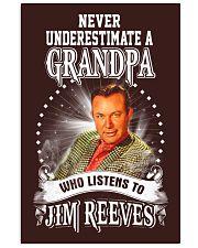 Never Underestimate A Grandpa Shirts 11x17 Poster thumbnail