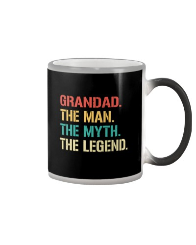 Grandad The Man The Myth The Legend  T-Shirt