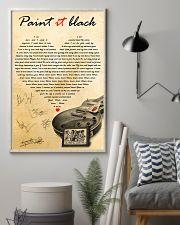 Paint It Black 11x17 Poster lifestyle-poster-1