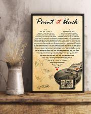 Paint It Black 11x17 Poster lifestyle-poster-3