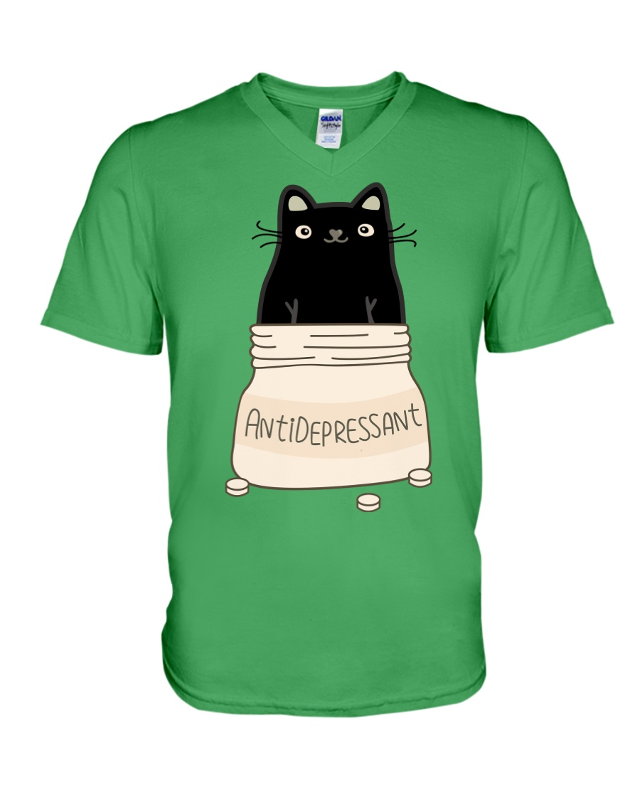 Anti Depressant V-Neck T-Shirt