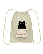 Anti Depressant Drawstring Bag thumbnail