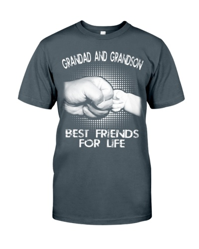 Grandad and Grandson - Best Friends For Life Shirts