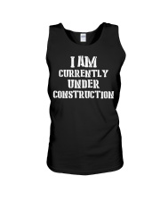 I am currently under construction Unisex Tank thumbnail