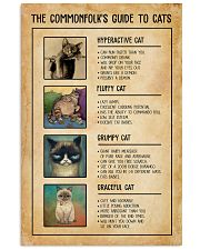 The Commonfolk's Guide To Cats 11x17 Poster front
