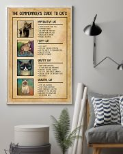 The Commonfolk's Guide To Cats 11x17 Poster lifestyle-poster-1