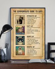 The Commonfolk's Guide To Cats 11x17 Poster lifestyle-poster-2