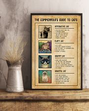 The Commonfolk's Guide To Cats 11x17 Poster lifestyle-poster-3