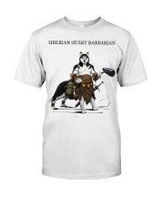 Siberian Husky Barbarian Classic T-Shirt front