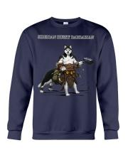 Siberian Husky Barbarian Crewneck Sweatshirt thumbnail