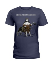 Siberian Husky Barbarian Ladies T-Shirt thumbnail