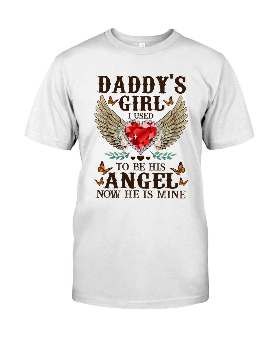 Angel Dad Classic T-Shirt