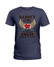 Angel Dad Ladies T-Shirt thumbnail