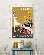 Just A Nurse Who Loves Cats 24x36 Poster lifestyle-holiday-poster-3