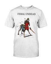 Feral Undead Classic T-Shirt front