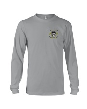 Skull Hockey Social Distancing 2 Sides Long Sleeve Tee thumbnail
