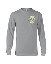 Weed Skull I'd Hit That 2 Sides Long Sleeve Tee thumbnail