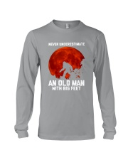 Camping - Never Underestimate Long Sleeve Tee thumbnail