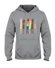 Lgbt - Be Kind Hooded Sweatshirt thumbnail