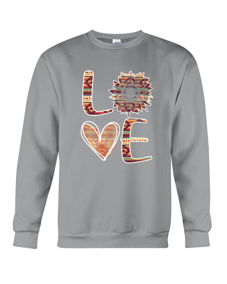 Native - Love Sunflower Native Crewneck Sweatshirt