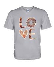 Native - Love Sunflower Native V-Neck T-Shirt thumbnail